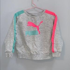Puma Toddler Girl Crewneck Pullover Sweater 3T